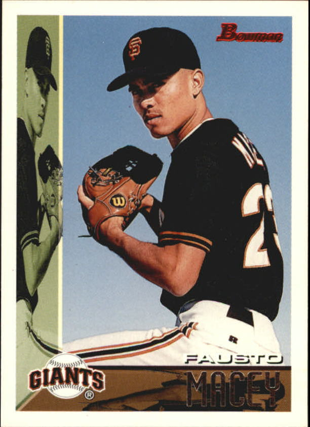 1995 Bowman #218 Fausto Macey RC