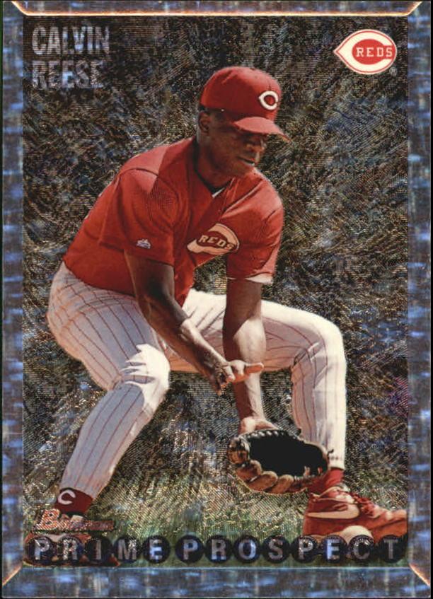 1995 Bowman #264 Pokey Reese FOIL
