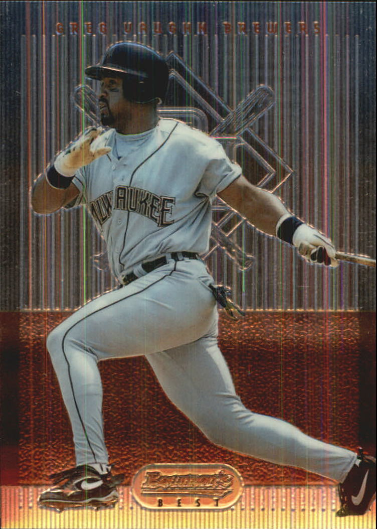 1995 Bowman's Best #R55 Greg Vaughn