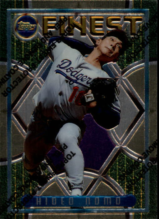 1995 Finest #228 Hideo Nomo RC