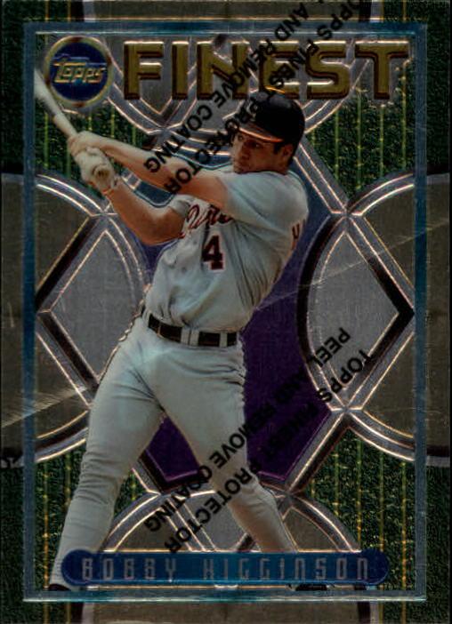 1995 Finest #257 Bob Higginson RC