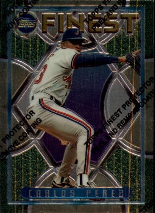 1995 Finest #296 Carlos Perez RC