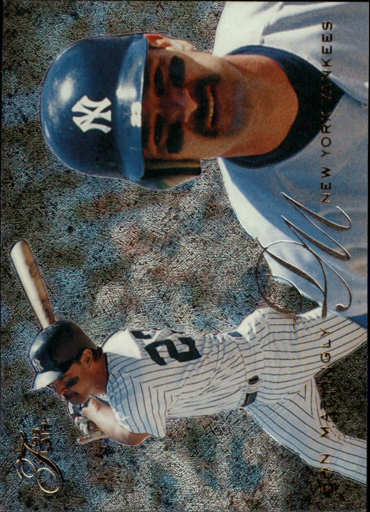 1995 Flair #66 Don Mattingly