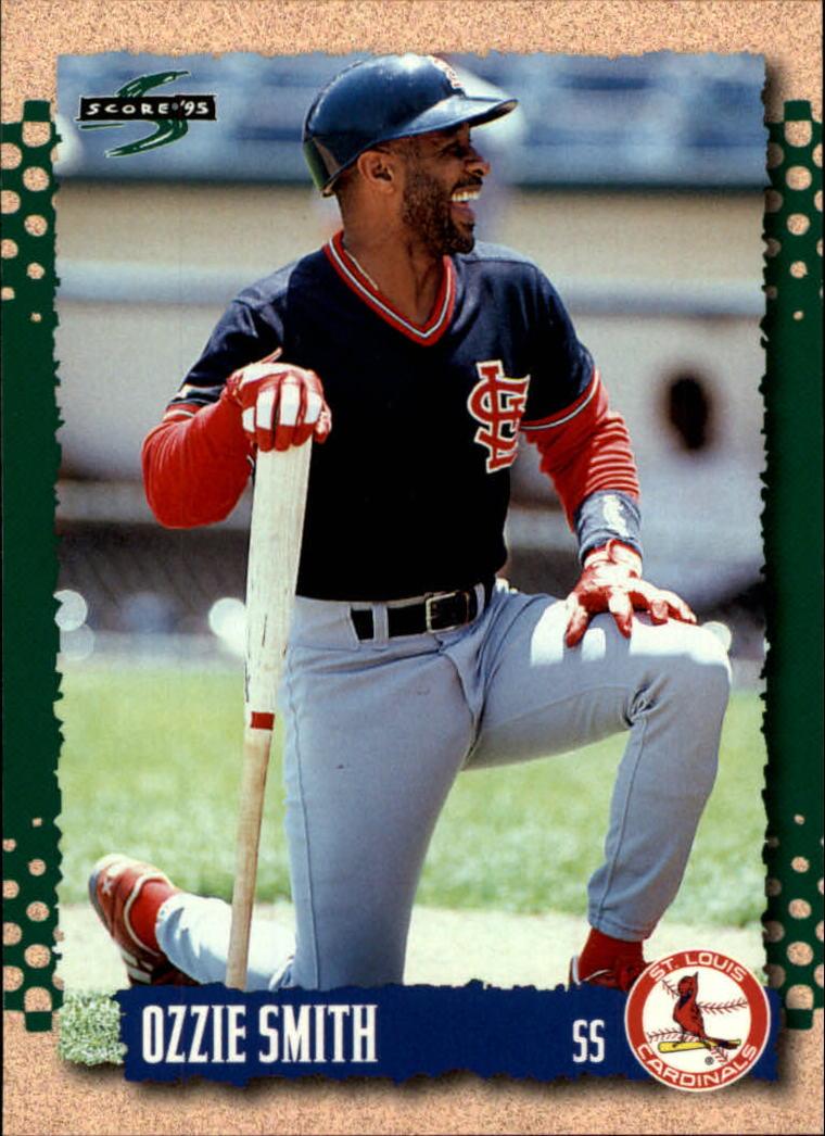 Details About 1995 Score St Louis Cardinals Baseball Card 26 Ozzie Smith