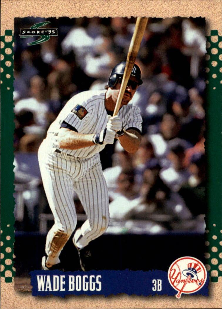 1995 Score #349 Wade Boggs