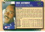 1995 Score #506 Eric Anthony back image