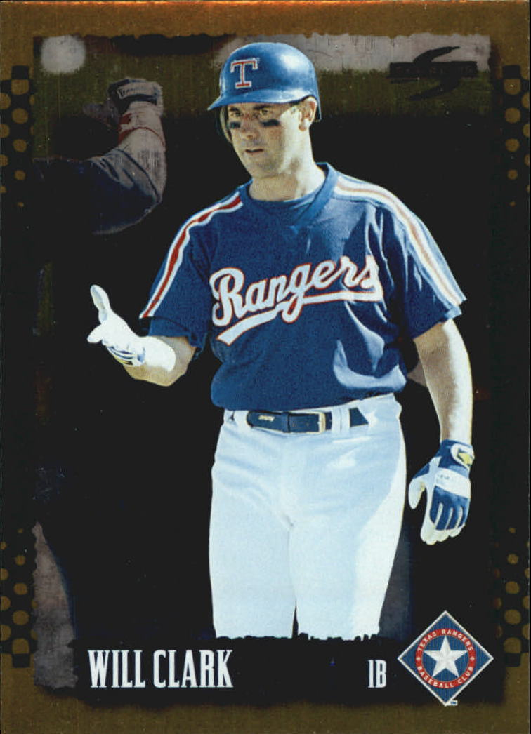 1995 Score Gold Rush #37 Will Clark
