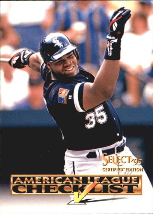 1995 Select Certified #2 Reggie Sanders