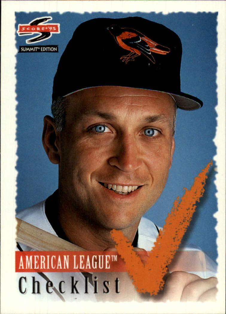 1995 Summit #196 Cal Ripken CL