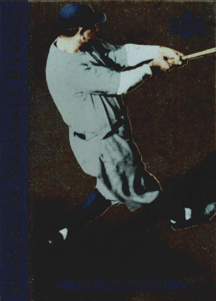 1995 Upper Deck Ruth Heroes #75 Babe Ruth/1920 Renaissance Man