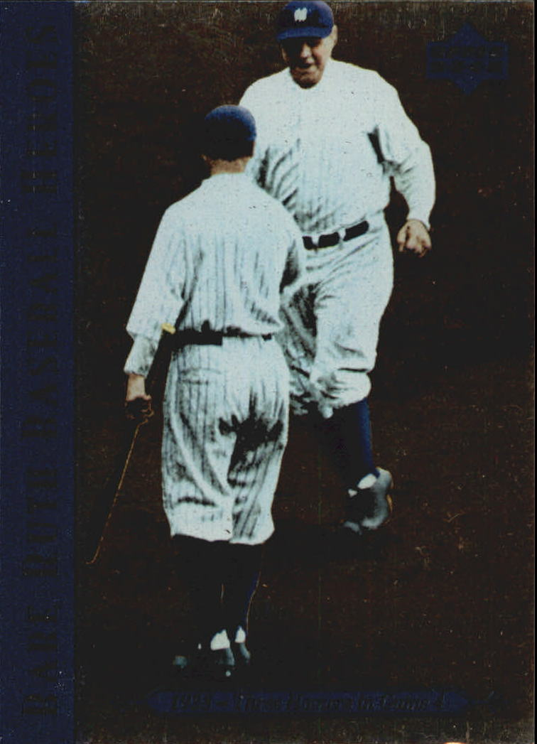 1995 Upper Deck Ruth Heroes #78 Babe Ruth/1928 Three Homers in Game 4