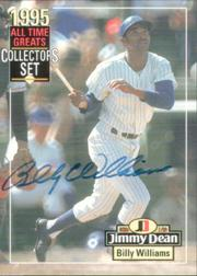 1995 Jimmy Dean All-Time Greats #NNO Billy Williams AU