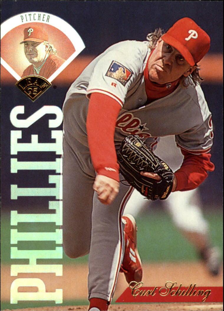 1995 Leaf #205 Curt Schilling