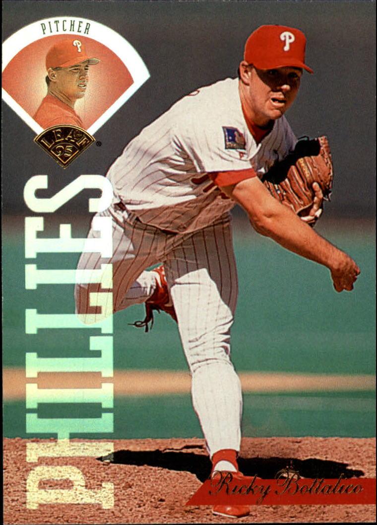 1995 Leaf #327 Ricky Bottalico