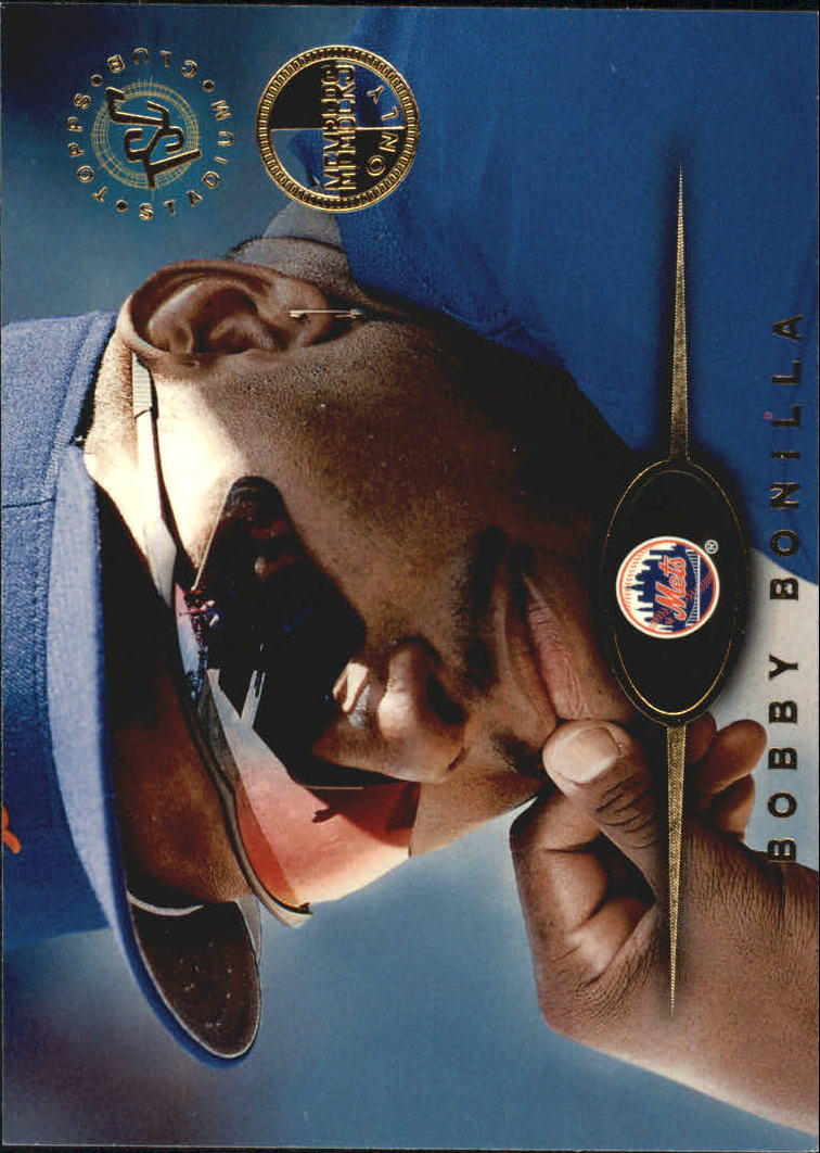 1995 Stadium Club Members Only Parallel #118 Bobby Bonilla