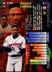 1995 Stadium Club Members Only Parallel #470 Kenny Lofton back image