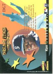 1995 Score Dream Team #DG7 Ken Griffey Jr. back image