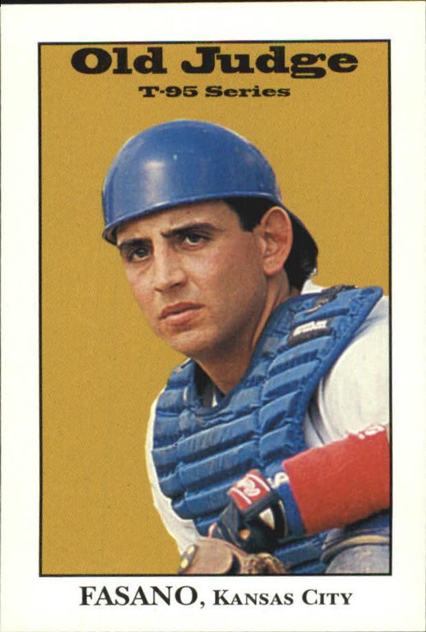 1995 Signature Rookies Old Judge #12 Sal Fasano