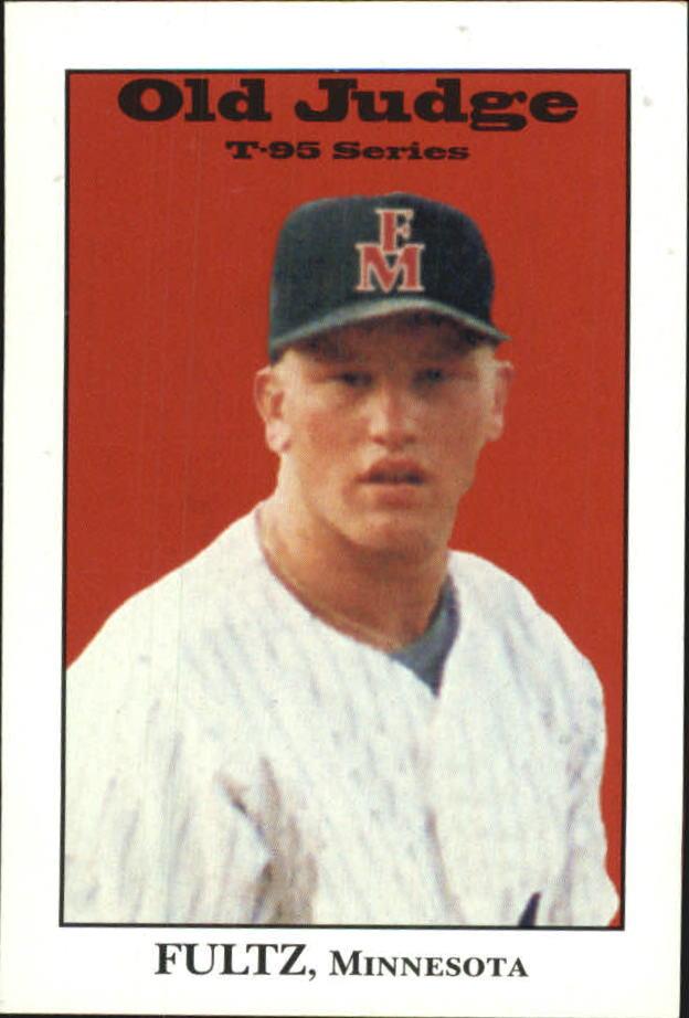 1995 Signature Rookies Old Judge #13 Aaron Fultz