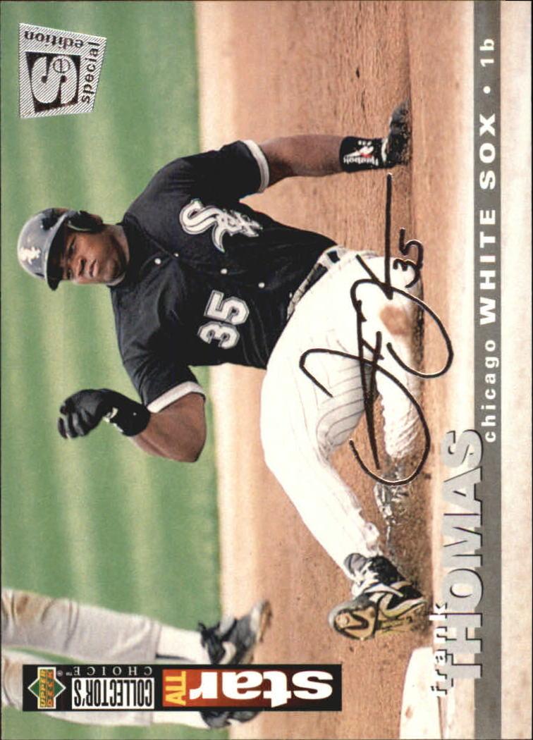1995 Collector's Choice SE Silver Signature #235 Frank Thomas