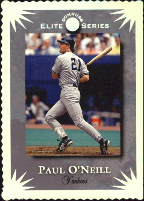 1995 Donruss Elite #50 Paul O'Neill