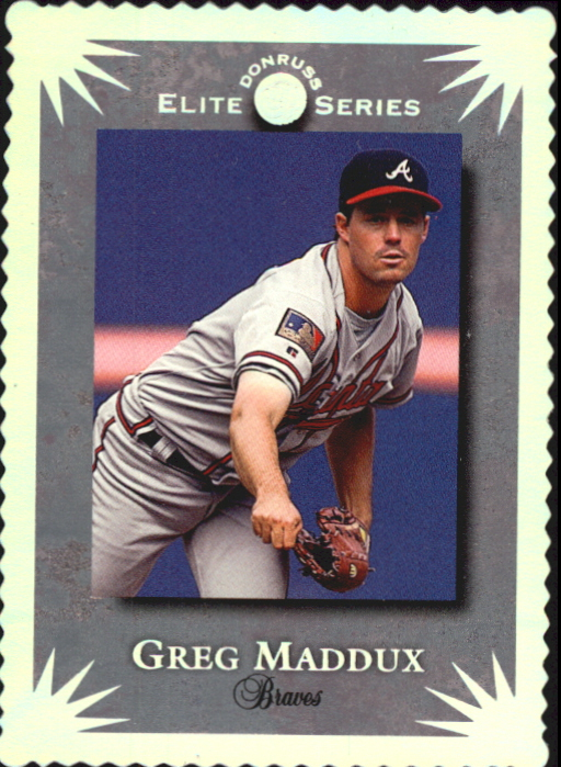 1995 Donruss Elite #51 Greg Maddux