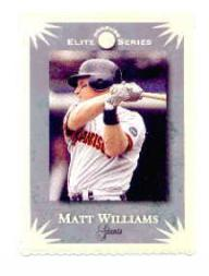 1995 Donruss Elite #53 Matt Williams