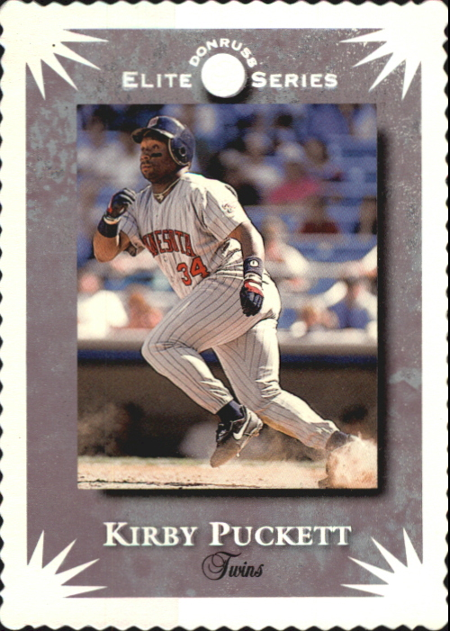 1995 Donruss Elite #57 Kirby Puckett