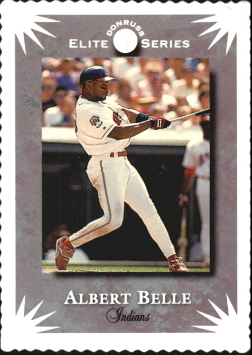 1995 Donruss Elite #60 Albert Belle