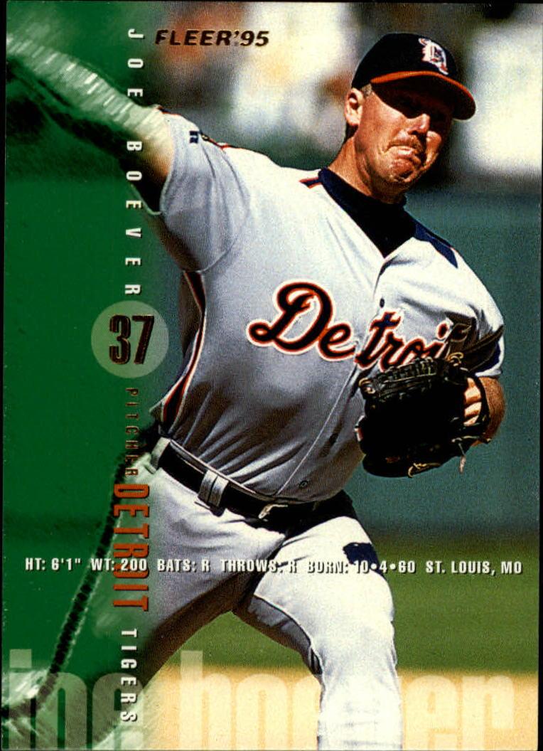 1995 Fleer #45 Joe Boever