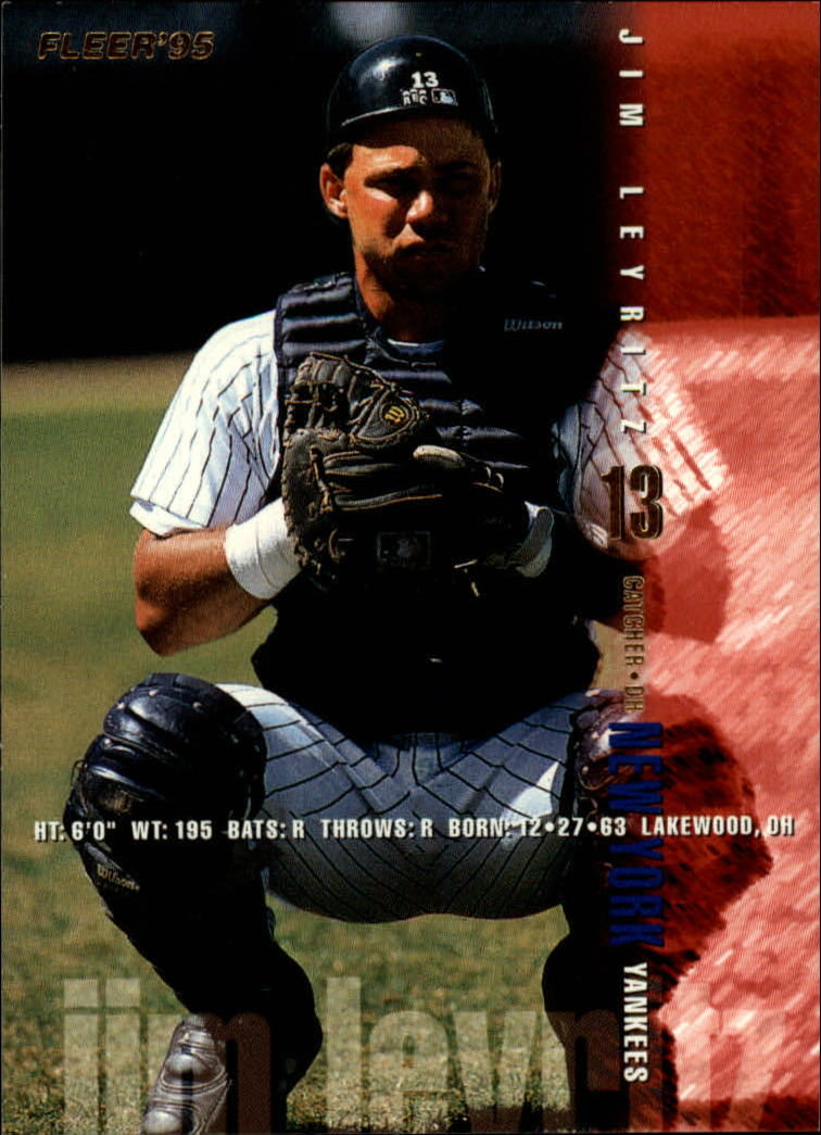 1995 Fleer #75 Jim Leyritz