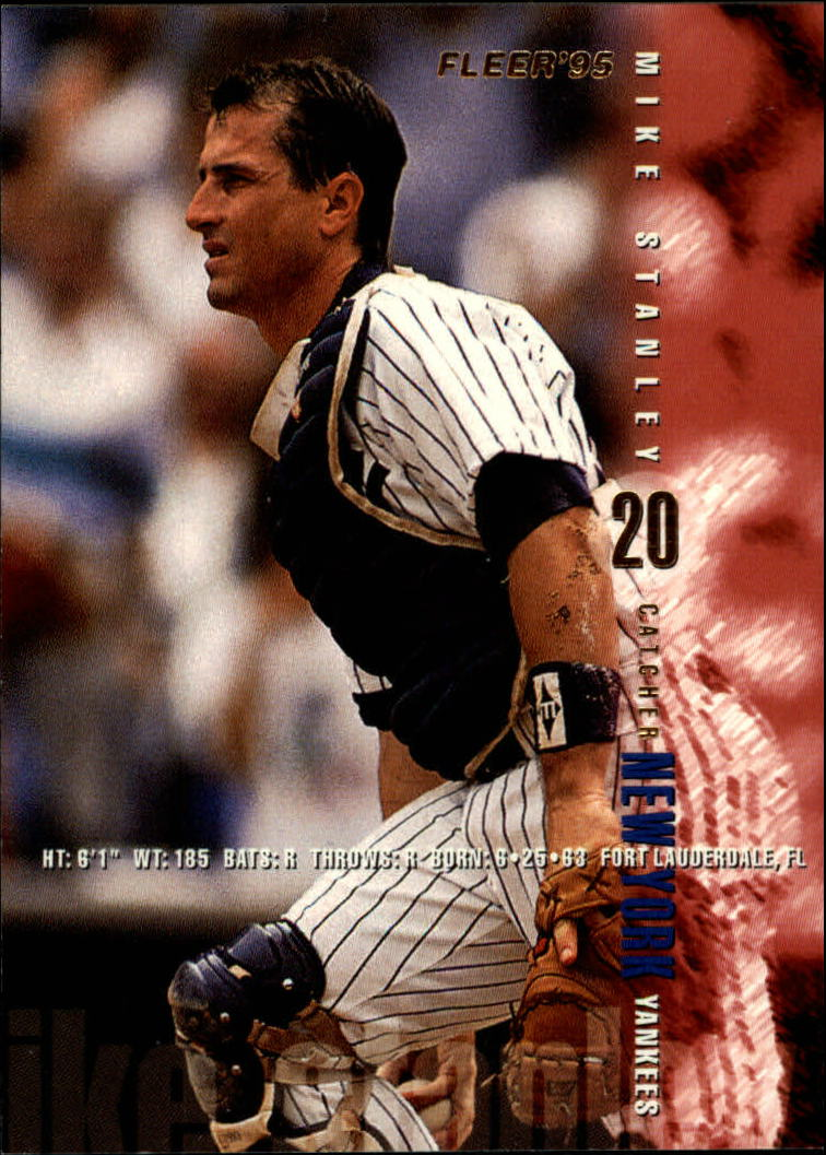 1995 Fleer #81 Mike Stanley
