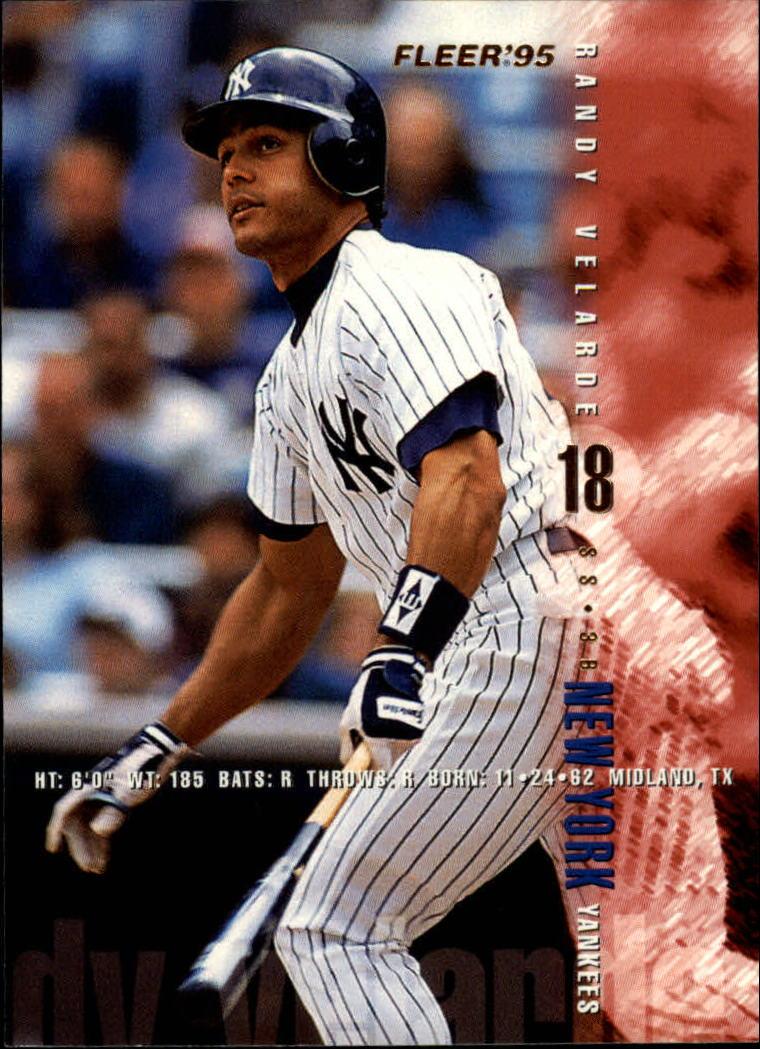 1995 Fleer #83 Randy Velarde