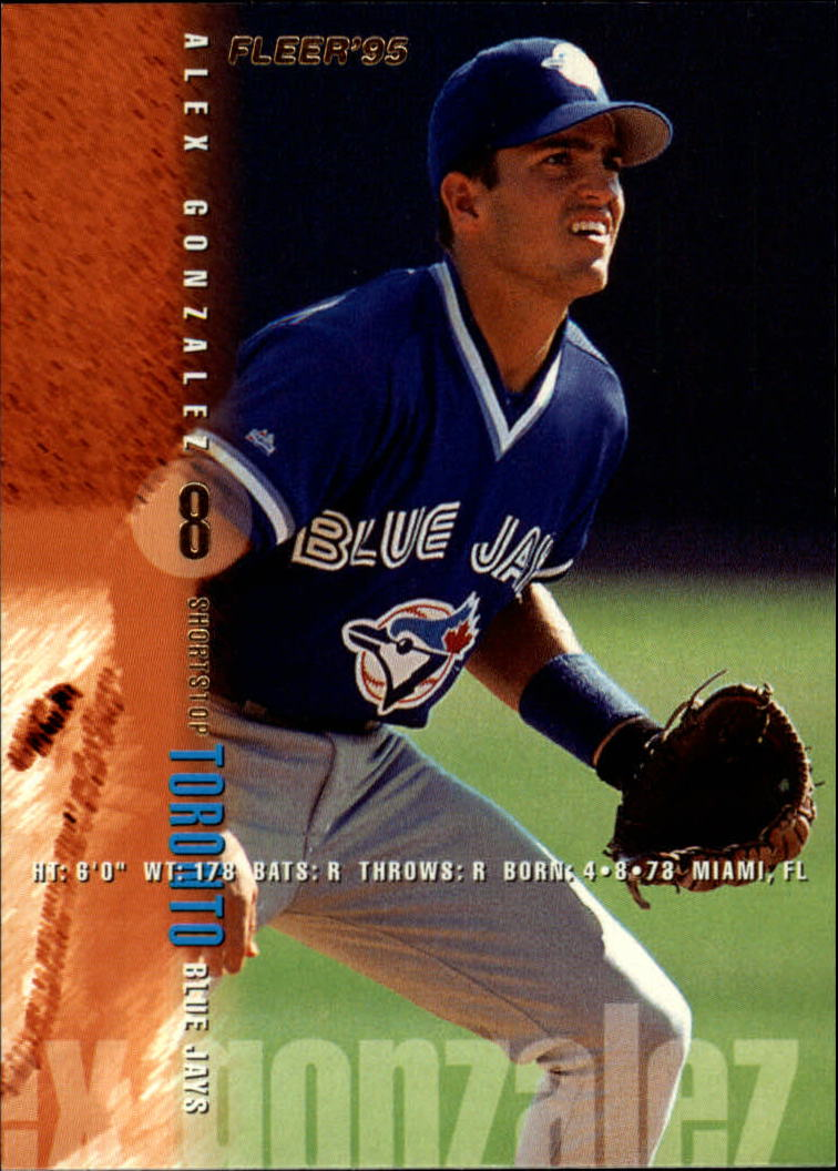1995 Fleer #93 Alex Gonzalez