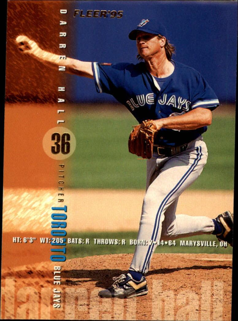 1995 Fleer #96 Darren Hall