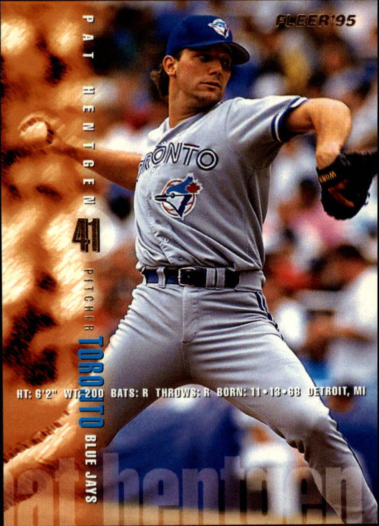 1995 Fleer #97 Pat Hentgen