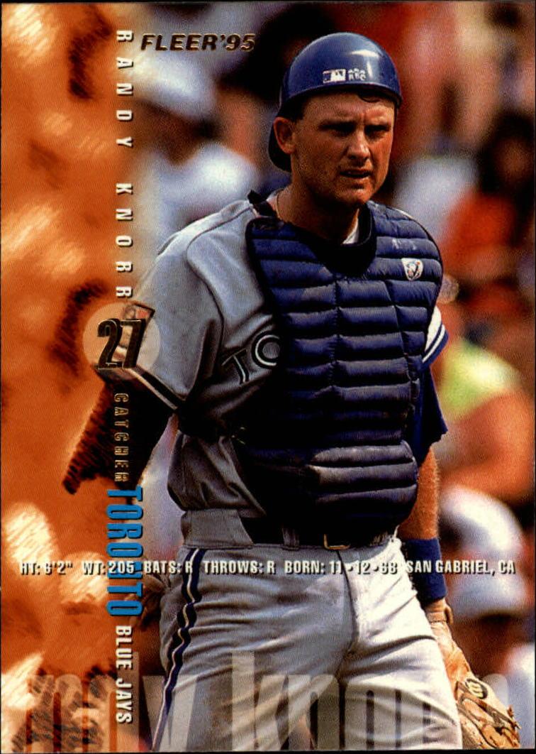 1995 Fleer #99 Randy Knorr