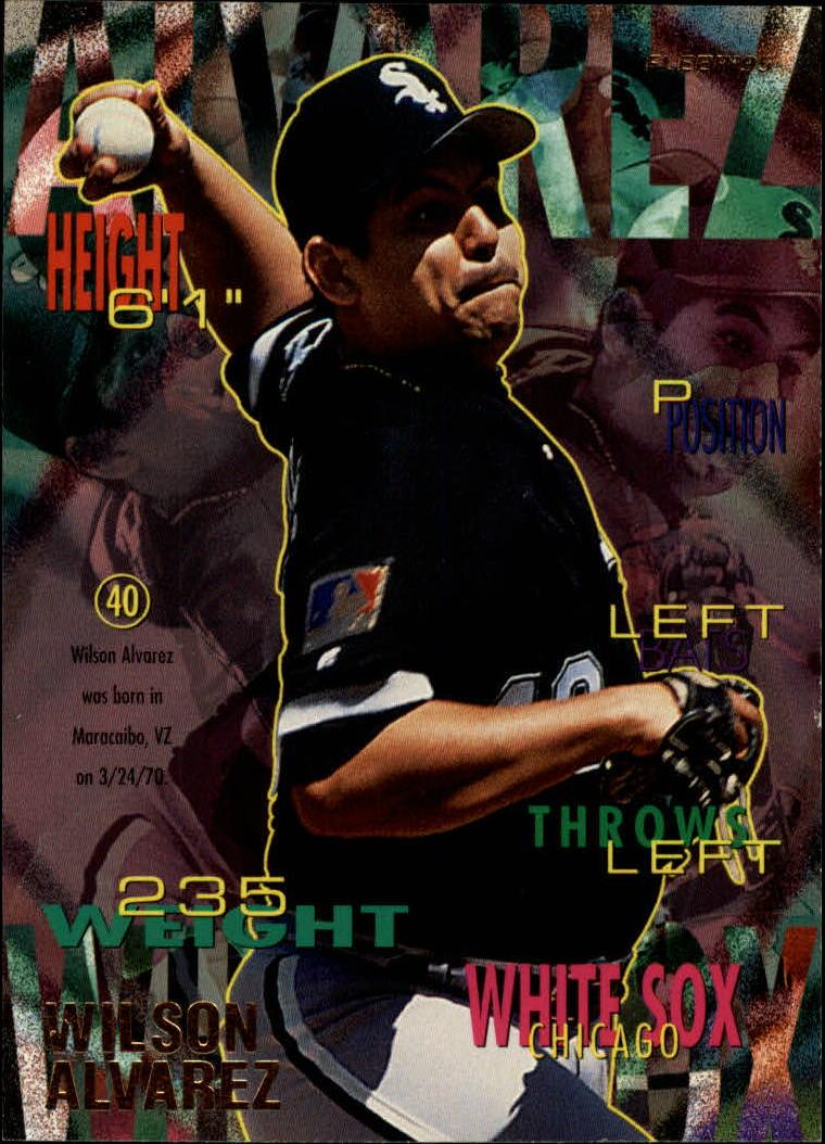 1995 Fleer #109 Wilson Alvarez