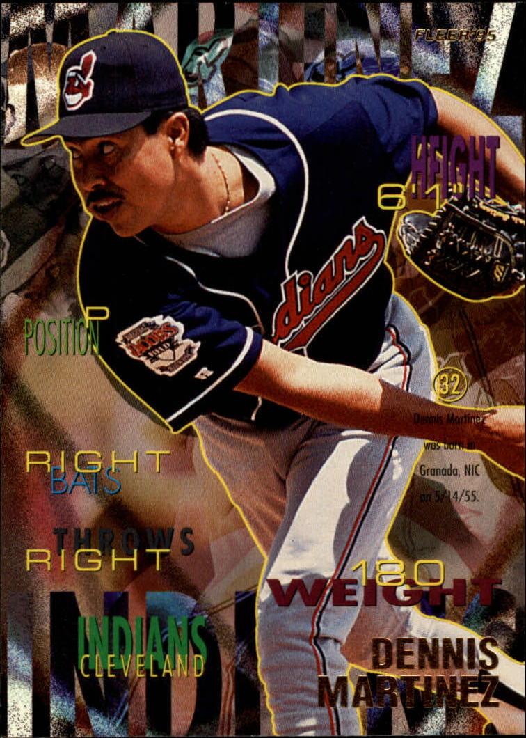 1995 Fleer #139 Dennis Martinez