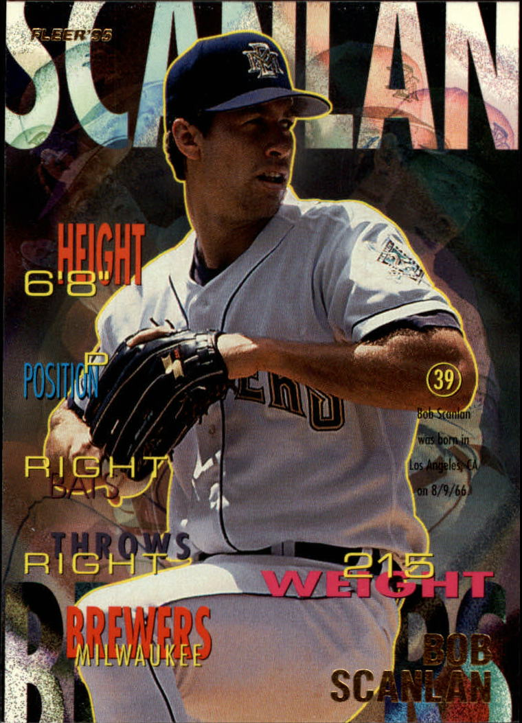 1995 Fleer #188 Bob Scanlan