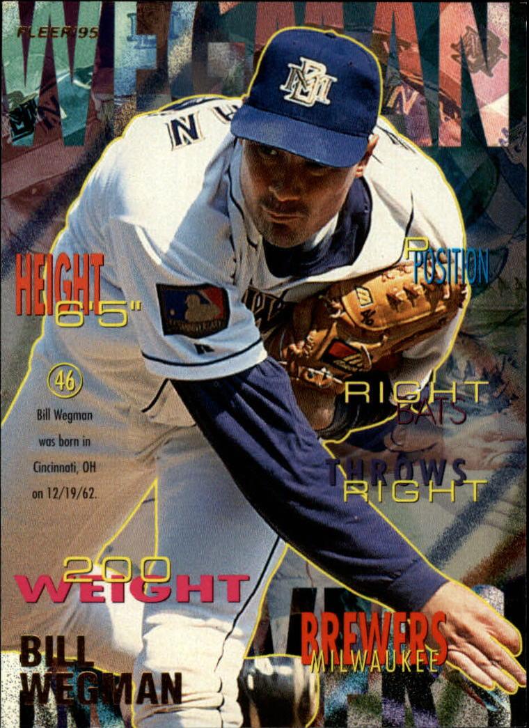 1995 Fleer #195 Bill Wegman