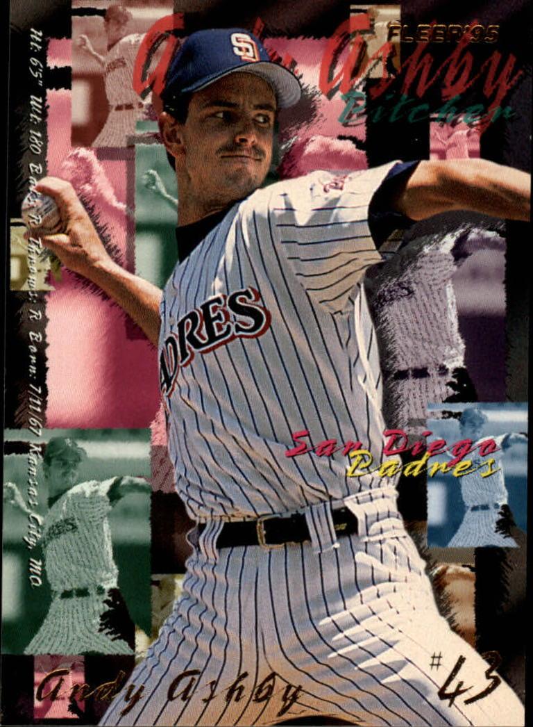 1995 Fleer #553 Andy Ashby