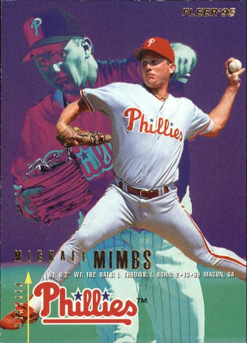 Baseball Cards Philadelphia Phillies 1996 Topps #97 Mike Mimbs
