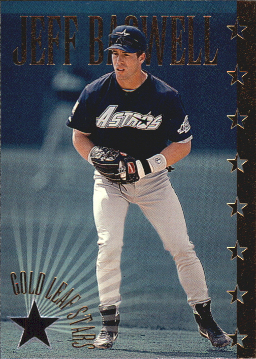 1995 Leaf Gold Stars #1 Jeff Bagwell