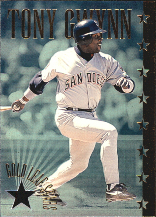 1995 Leaf Gold Stars #3 Tony Gwynn