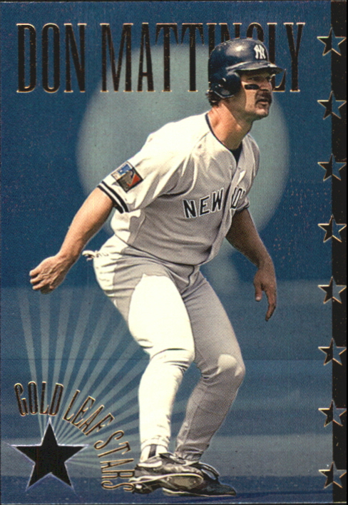 1995 Leaf Gold Stars #6 Don Mattingly