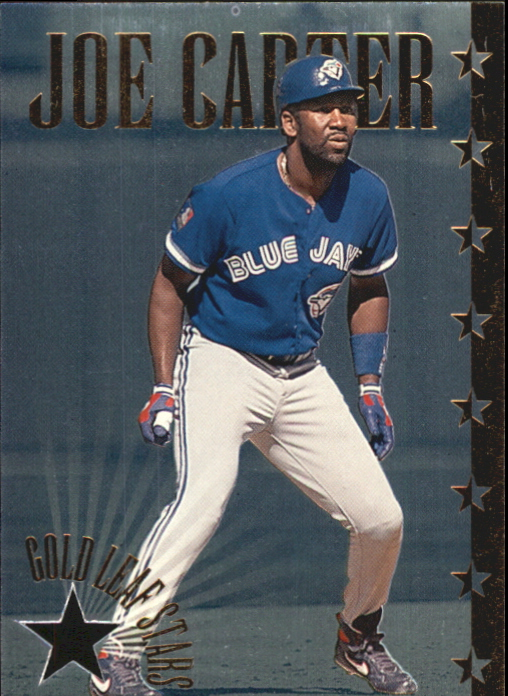 1995 Leaf Gold Stars #8 Joe Carter