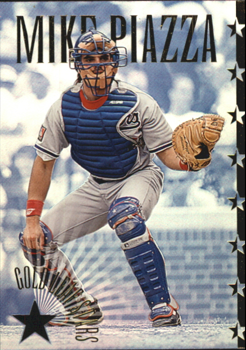 1995 Leaf Gold Stars #11 Mike Piazza