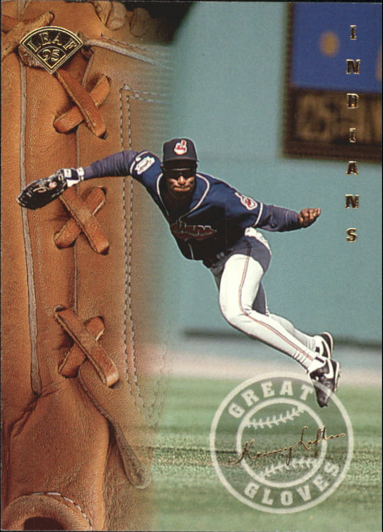 1995 Leaf Great Gloves #8 Kenny Lofton