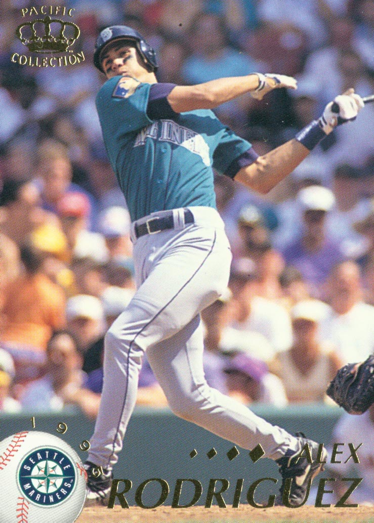 1995 Pacific #402 Alex Rodriguez